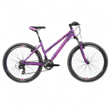 VTT BLACK HILL LADY 26'' violet mat 3x7V DIAMOND 2017